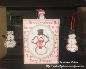 Stampin Up Snow Place